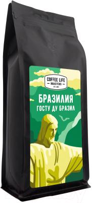 Кофе в зернах Coffee Life Roasters Бразилия / 5010