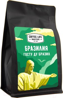 Кофе в зернах Coffee Life Roasters Бразилия / 5030