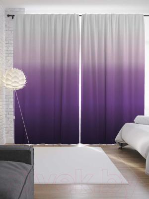 Шторы JoyArty Фиолетовый градиент / p_8604