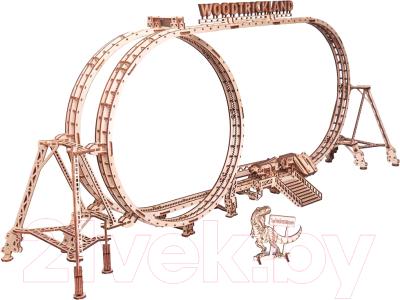 Конструктор электромеханический Wood Trick Большие Американские горки / 1234-78