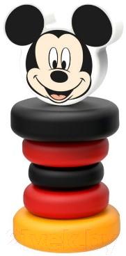 Развивающая игрушка Уланик Пирамидка Микки Маус / dis-dp5001