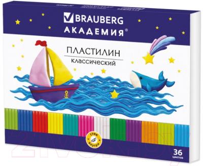 Пластилин Brauberg Академия / 105901