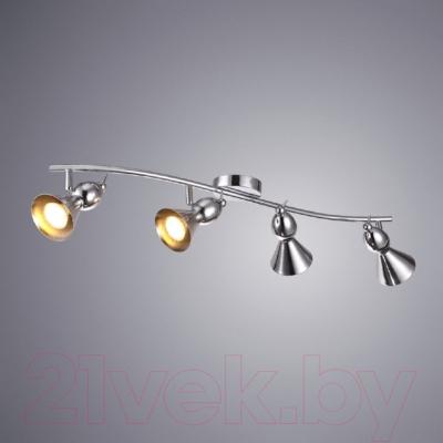 Спот Arte Lamp Picchio Chrome A9229PL-4CC