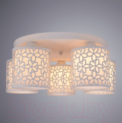 Люстра Arte Lamp Traforato A8349PL-5WH
