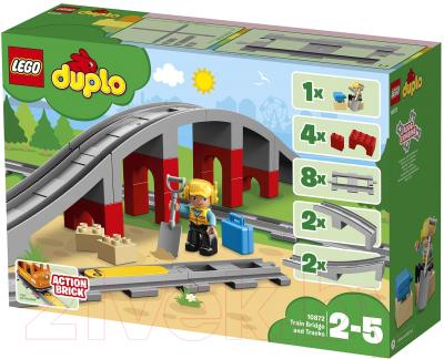 Конструктор Lego Duplo Железнодорожный мост 10872