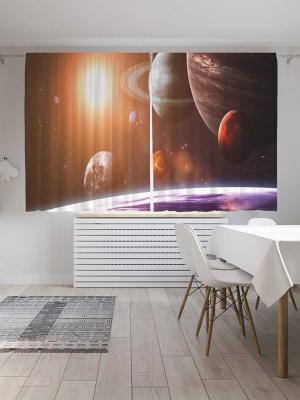 Шторы JoyArty Космические планеты / p_21088