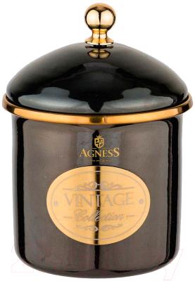 Емкость для хранения Agness Тюдор / 950-260 кастрюля agness тюдор 950 221