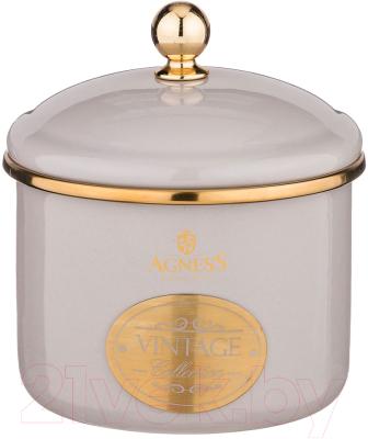 Емкость для хранения Agness Тюдор / 950-304 кастрюля agness тюдор 950 221