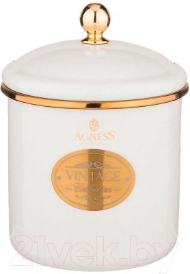 Емкость для хранения Agness Тюдор / 950-246 кастрюля agness тюдор 950 221
