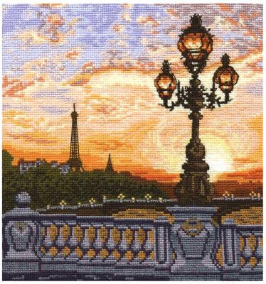 Набор для вышивания Сделай своими руками Парижский вечер / 3919325