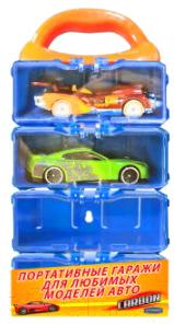 Гараж игрушечный Autogrand Портативный кейс для моделей автомобилей / 82417