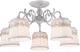 Потолочный светильник Arte Lamp Merletto A5709PL-5WG -