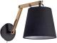Бра Arte Lamp Pinoccio A5700AP-1BK -