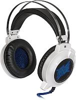 Наушники-гарнитура Defender Icefall G-510D / 64510 (белый/синий) -