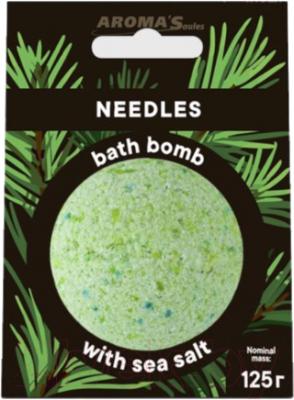 Бомбочка для ванны Aroma Saules Хвоя