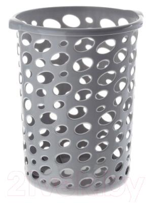 Корзина для бумаг Альтернатива Сорренто / М2055 корзина для мусора сорренто 12л серый м2055 башкирия