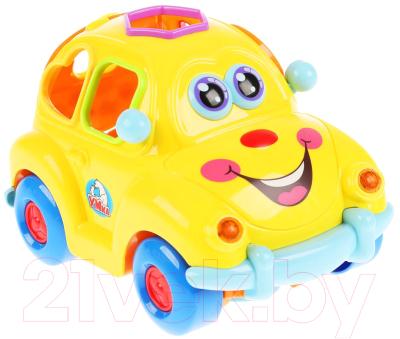 Развивающая игрушка Умка Машинка-сортер / HL516-R