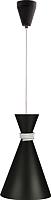 Потолочный светильник Vesta Light 50311 (черный/белый) -
