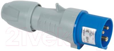 Вилка силовая Legrand 2Р+Е IP44 16А 230V / 90103