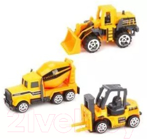Набор игрушечной техники Наша игрушка Строительная техника / TN-1018E