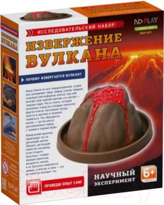 Набор для опытов ND Play Извержение вулкана / NDP-031 набор nd play динамо машина