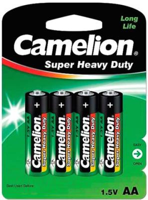 Комплект батареек Camelion R 6 BL-4 / R6P-BP4G