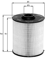 Топливный фильтр Knecht/Mahle MD-597/KX86/1D -