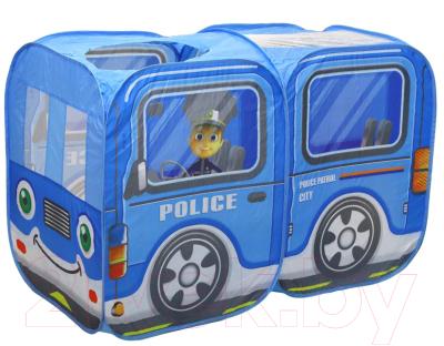 Детская игровая палатка Наша игрушка Полицейская машина / 333-115 игрушка попрыгун altacto полицейская машина белый