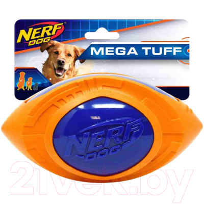Игрушка для собак Nerf Мяч для регби / 53957