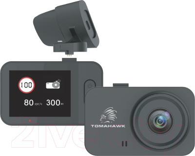 Автомобильный видеорегистратор Tomahawk FHD X2 GPS