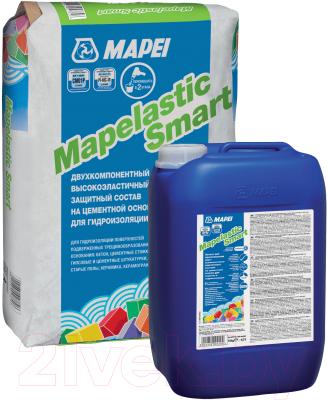 Гидроизоляция цементная Mapei Mapelastic Smart компонент А + компонент В