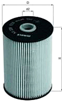 Топливный фильтр Knecht/Mahle KX228D -
