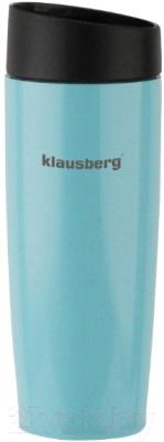 Термокружка Klausberg KB-7148 (голубой)
