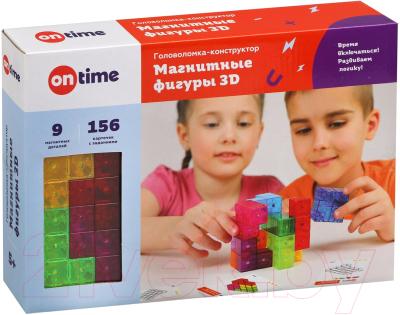 Игра-головоломка On Time Магнитные фигуры 3D / 45019