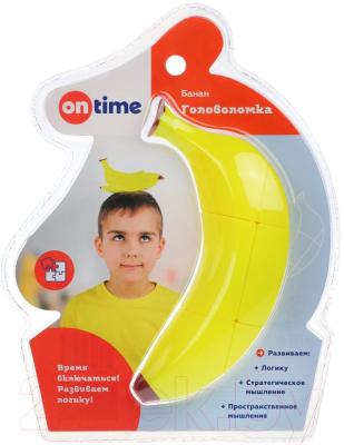 Игра-головоломка On Time Головоломка 3D Банан / 45026