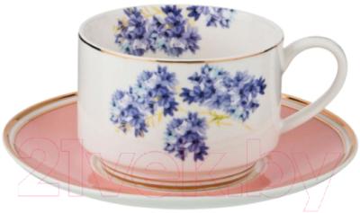 Чашка с блюдцем Lefard Пинк / 275-1127
