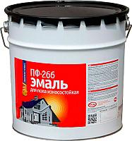 Эмаль Эконом ПФ-266 (20кг, красно-коричневый) -