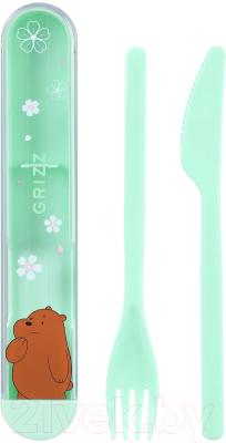 Набор столовых приборов Miniso We Bare Bears Гризли / 0231