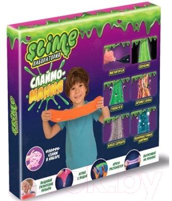 Набор для создания слайма Slime Лаборатория для мальчиков / SS300-2