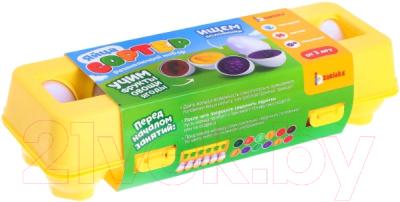 Развивающая игрушка Zabiaka Сортер яйца Фрукты, овощи, ягоды / 6852547 развивающая игра домино пазлы читазлы фрукты овощи и ягоды 4