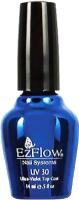 Топ для гель-лака EzFlow UV-30 Top Coat для искусственных ногтей (14мл) -