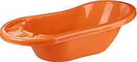 Ванночка детская Альтернатива Карапуз М3252 (оранжевый) -
