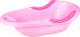 Ванночка детская Альтернатива Малышок большая М1687 (розовый) -