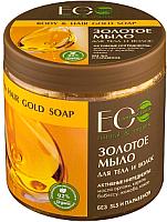 Мыло жидкое Ecological Organic Laboratorie Золотое для тела и волос (450мл) -