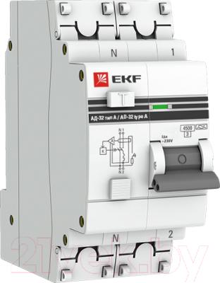 Дифференциальный автомат EKF АД-32-16А-30мА PROxima / DA32-16-30-pro