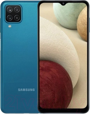 Смартфон Samsung Galaxy A12 32GB / SM-A127FZBU (синий)