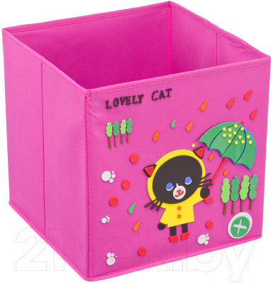 Коробка для хранения Handy Home Черный кот 300x300x300 / UC-114 фигура кот воин 6 чёрный 19х9х29 5см 114 93 284946
