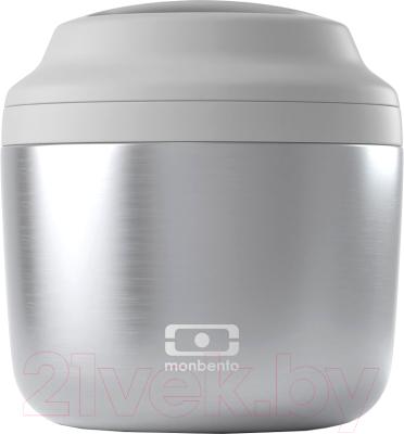 Фото - Ланч-бокс Monbento MB Element Silver / 18273998 monbento ланч бокс tresor 16x10 4 см горчичный