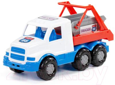 Автомобиль игрушечный Полесье Гоша коммунальная спецмашина / 90423