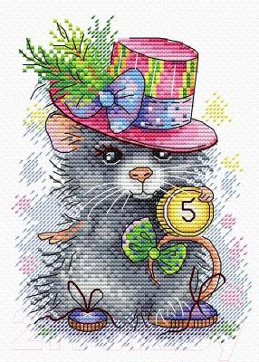 Набор для вышивания М.П.Студия Денежный мышонок / М-429М